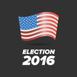 United States Election Vote sign