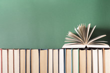 Open Book, Hardback Books On W...