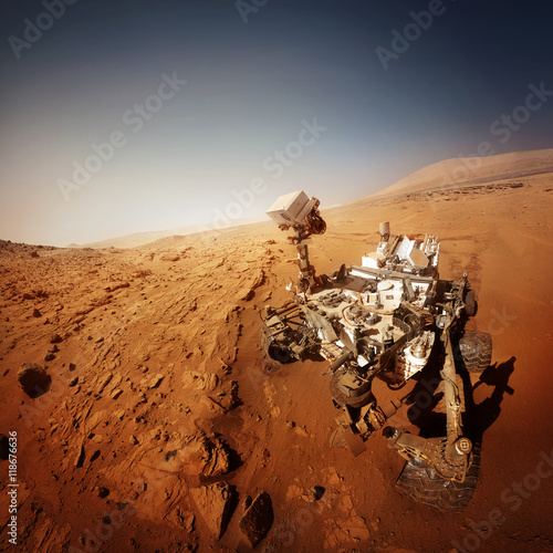 Foto op Aluminium Nasa Mars rover. Elements of this image furnished by NASA