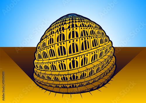 Fototapeta Tower of Babel obraz na płótnie