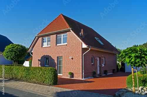 Fotografiet  Einfamilienhaus