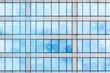 canvas print picture - Glass facade texture