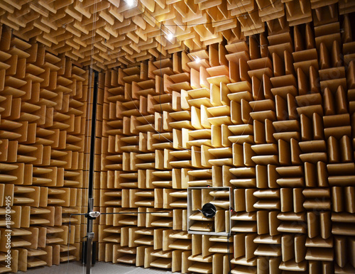 Photo  Acoustic chamber.