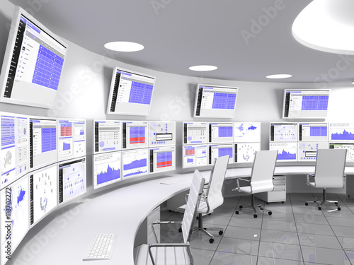 Fotografía A network operations center or NOC also called a network management center, is a locations from which network monitoring and control, or network management, is exercised over a network