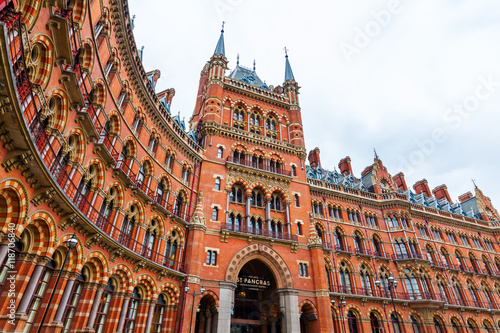 Canvas Prints Train Station St Pancras railway station in London
