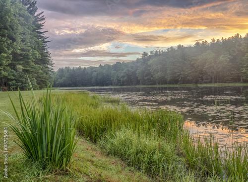 Fotografía  Silver Lake in Sullivan County