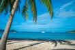 Beautiful tropical island beach