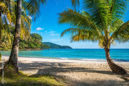 Foto op Canvas Tropical strand Beautiful tropical island beach, Koh Kood island Thailand