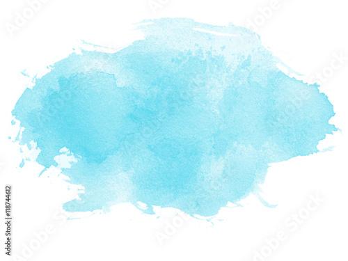 Obraz na plátně Watercolor Splash