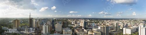 Fotografie, Obraz  Nairobi Center Panorama, Kenya