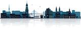 Panoramę Hamburga