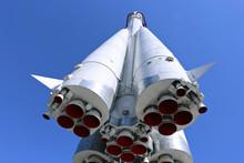 The Rocket Vostok On The Launc...