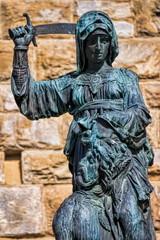 Panel Szklany Toskania Florenz, Judith enthauptet Holofernes