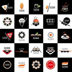 Fototapetavector sushi logo
