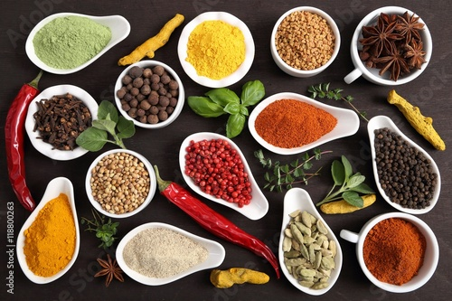 Spices and herbs. - 118800263