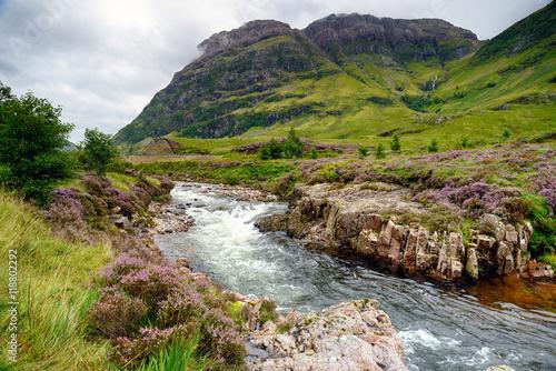 Photo  Glencoe in Scotland