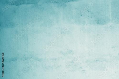 Pastellfarben . helles Blau auf alter Wand - Hintergrund für Text und Bild