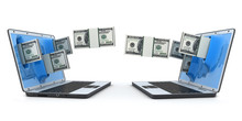 Laptop And Fly Money