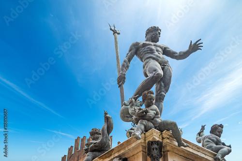 Photo  Triton statue in Bologna