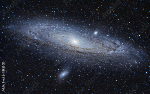 Deurstickers Nasa The Andromeda Galaxy