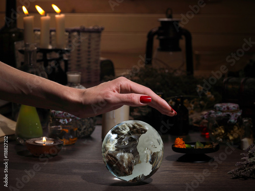 Plakát Hands witch