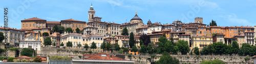 Fotografie, Obraz  Panorama of upper city Citta Alta in Bergamo, Italy