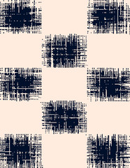 Fototapeta Abstract grunge vector background. Monochrome raster composition of irregular overlapping graphic elements.