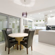 Dining space in modern interior
