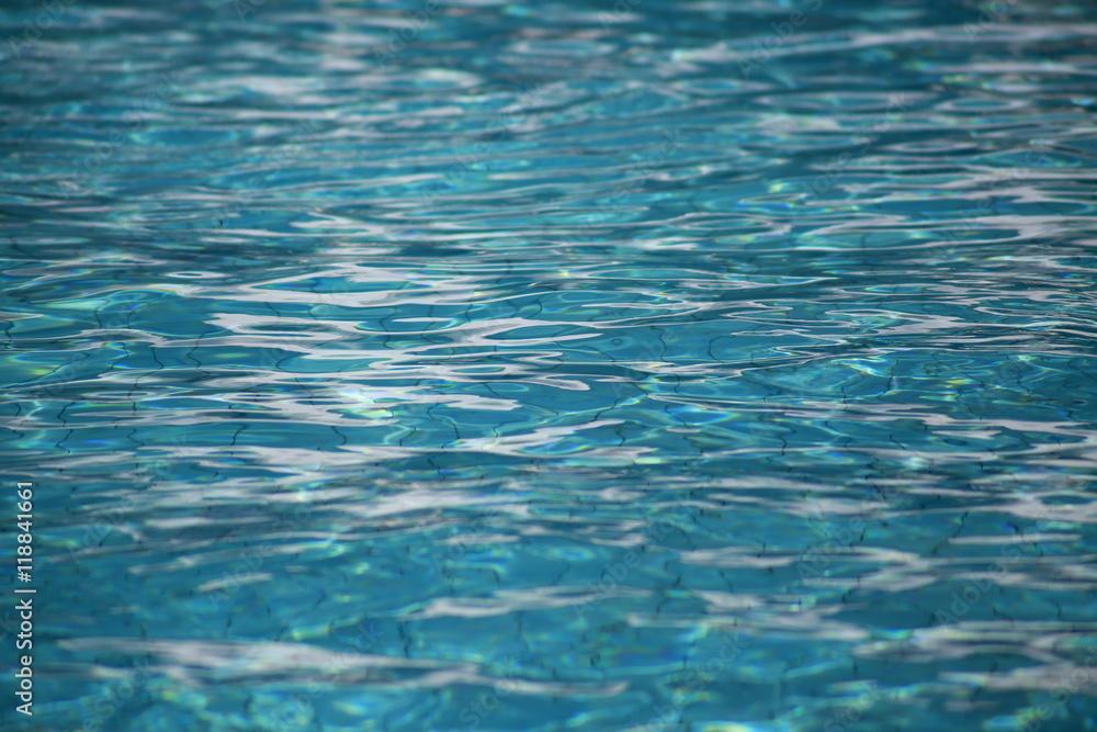 Fototapeta Dno basenu, woda