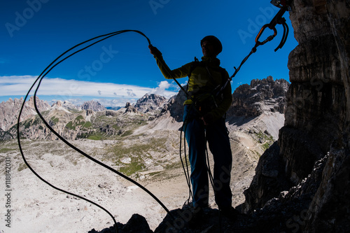 Fotografie, Obraz  Climbing in the mountains