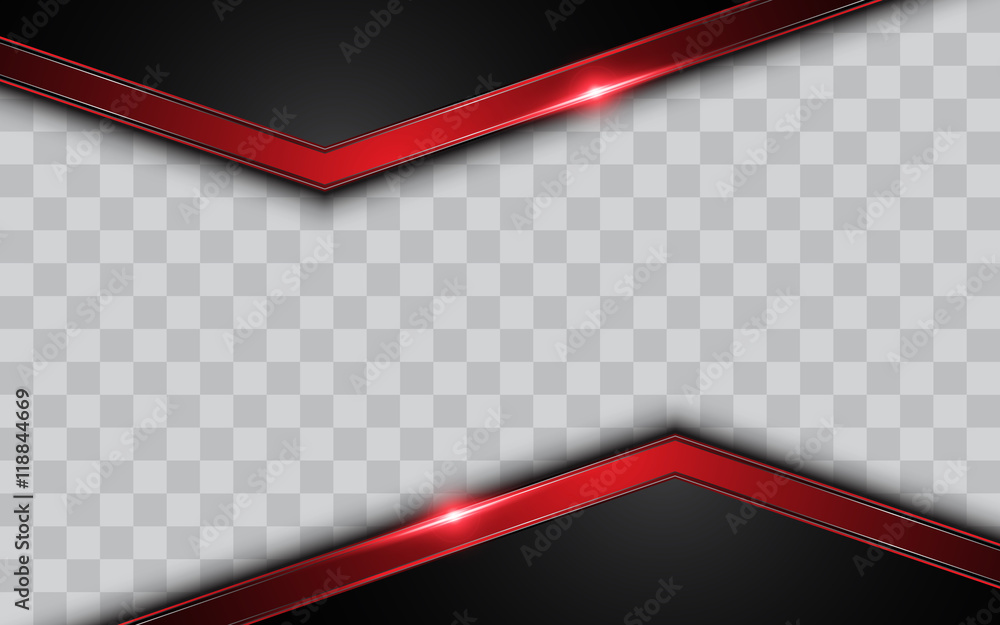Fototapety, obrazy: abstract modern metallic silver frame template background