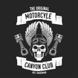 Hand drawn quote about motorcycles and bikers