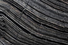 Black Wooden Stone
