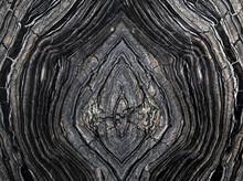 Black Wooden Stone Mosaic