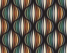 Retro Repetitive Wallpaper - V...