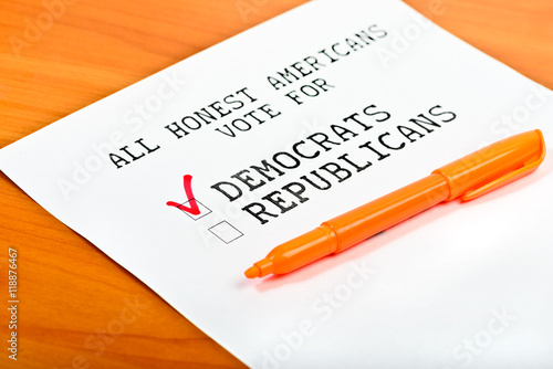 Photo  USA election 2016