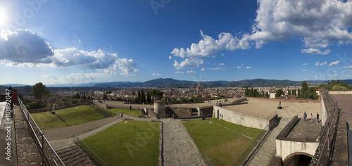 Fotografie, Obraz  Toscana,Firenze,forte di Belvedere.