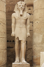 Ramesses II Statue Luxor Templ...