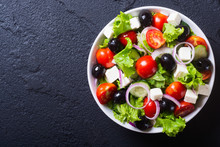 Photo Of Fresh Greek Salad