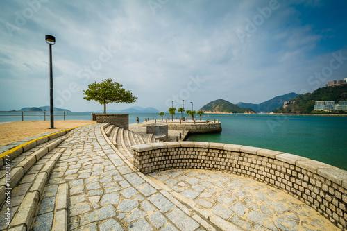 Fényképezés  Pier at Repulse Bay, in Hong Kong, Hong Kong.