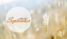 Hello September Wallpaper, Autumn Background