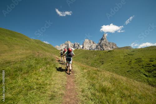 Photo  trekking sulle dolomiti