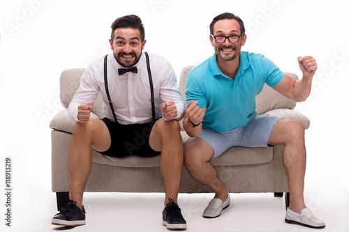 men expressing emotions