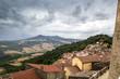 Monte Vulture visto dal Castello Grimaldi Monteverde (Avellino)