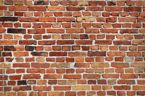 Poster Baksteen muur Brickwall Background