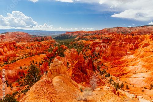 Foto op Canvas Baksteen The Bryce Canyon National Park, Utah, USA