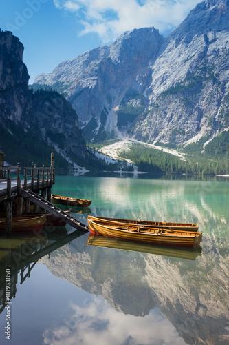 Fotografía  Braies Lake