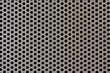 Perforated Metal Sheet Texture...