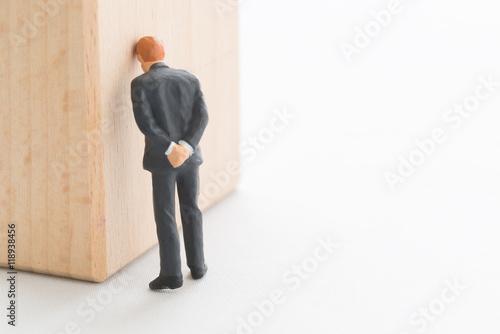 Fotografie, Obraz 失敗したビジネスマン