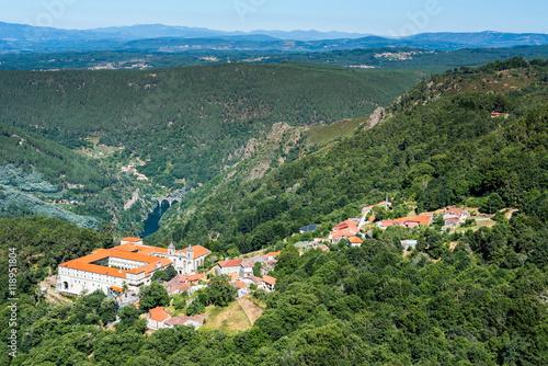 Monastery of San Esteban (Ribas de Sil), Orense (Galicia)